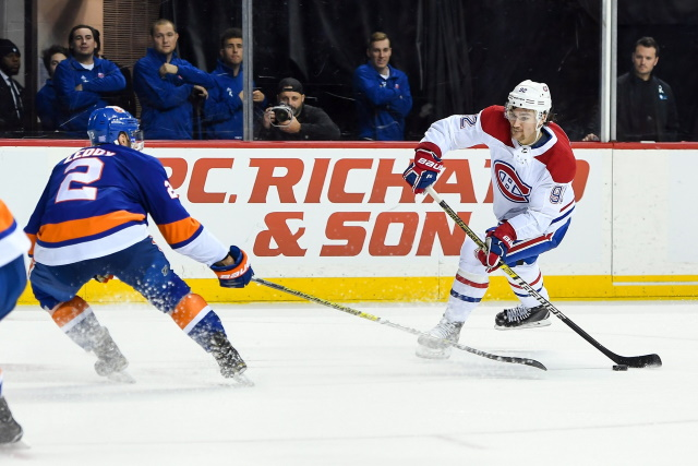 Does it make sense for the Montreal Canadiens to trade Jonathan Drouin? Would Nick Leddy be of interest?
