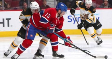 Max Domi and the Montreal Canadiens talking contract extension. John Moore not ready to start the season.