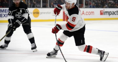 The New Jersey Devils and Taylor Hall haven't discussed numbers yet.