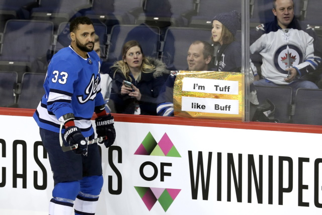 best service 0a40a ca2d1 Jets Defenceman Dustin Byfuglien Ponders His Career And More ...