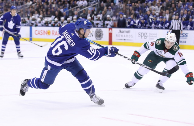 Mitch Marner received two offer sheets this offseason, and he wasn't interested at all.