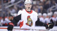 The Ottawa Senators have signed defenseman Thomas Chabot to an eight-year contract extension.