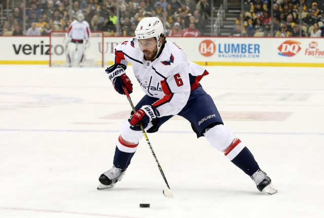 Washington Capitals defenseman Michal Kempny not ready for the start of training camp.