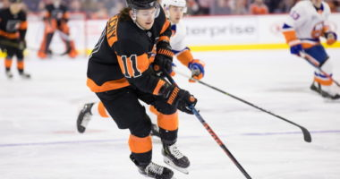 The Philadelphia Flyers and Travis Konecny agree on a six-year contract.