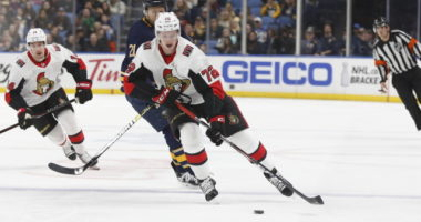 Thomas Chabot and the Ottawa Senators continue contract extension talks.