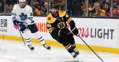 Auston Matthews has been charged. Bruins hoping David Krejci's injury not serious.