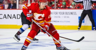 The Calgary Flames still need to sign two restricted free agents - Matthew Tkachuk and Andrew Mangiapane.