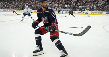 Brandon Dubinsky has a wrist injury that could keep him out long-term.