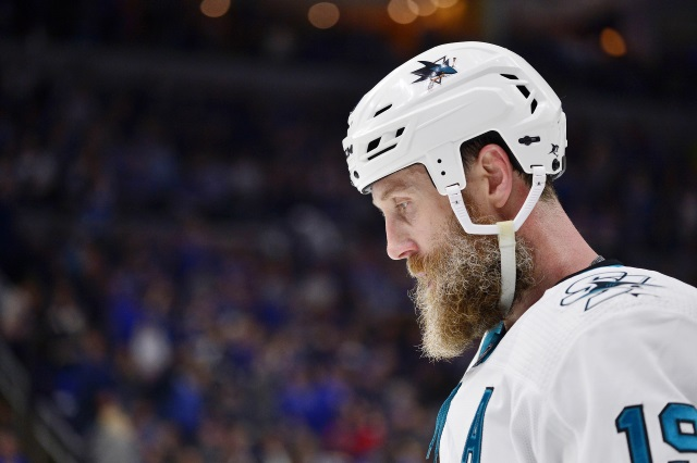 The San Jose Sharks and Joe Thornton