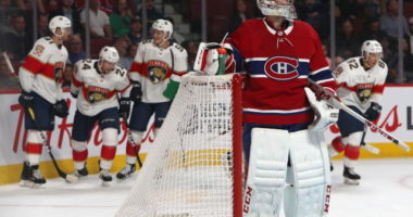 Carey Price is dealing with a bruised left hand.