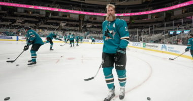 NHL Last Lap: Jumbo Joe Thornton Searches For Elusive Stanley Cup