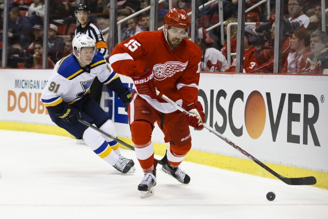 The Edmonton Oilers sign Riley Sheahan. Vladimir Tarasenko will be ready for the start of training camp.