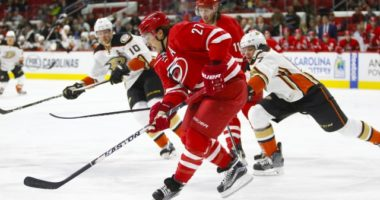 Will Carolina Hurricanes defenseman Justin Faulk waive his no-trade clause for the Anaheim Ducks?