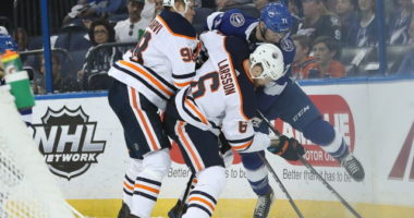 No talks between the Oilers, Adam Larsson, Ryan Nugent-Hopkins. Toronto Maple Leafs looking for secondary scoring. Panthers controversy?
