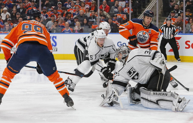 The Carolina Hurricanes kicked tires on Jesse Puljujarvi and others. LA Kings Jonathan Quick is basically untradeable at this point.