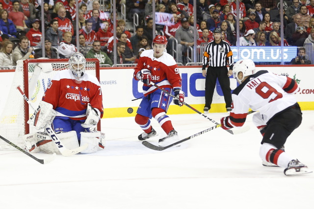 Nhl Rumors Hall And The Devils Backstrom Holtby And The Capitals Nhl Rumors