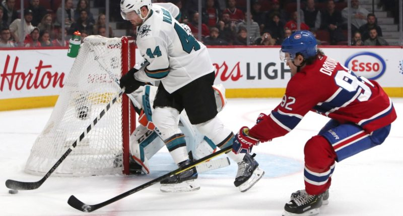 Could the Montreal Canadiens be looking at San Jose Sharks defenseman Marc-Edouard Vlasic?