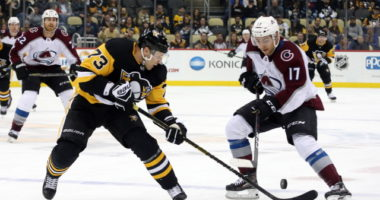 Are the Pittsburgh Penguins and Colorado talking trade involving Jack Johnson?