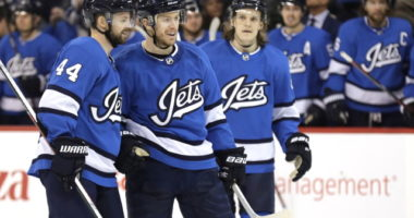 Winnipeg Jets Josh Morrissey pulled before last night's game a precaution