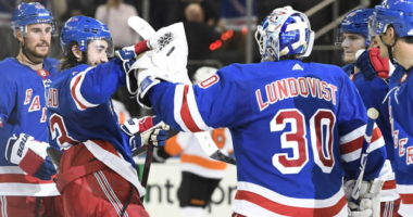 Henrik Lundqvist and Mika Zibanejab are both day-to-day.