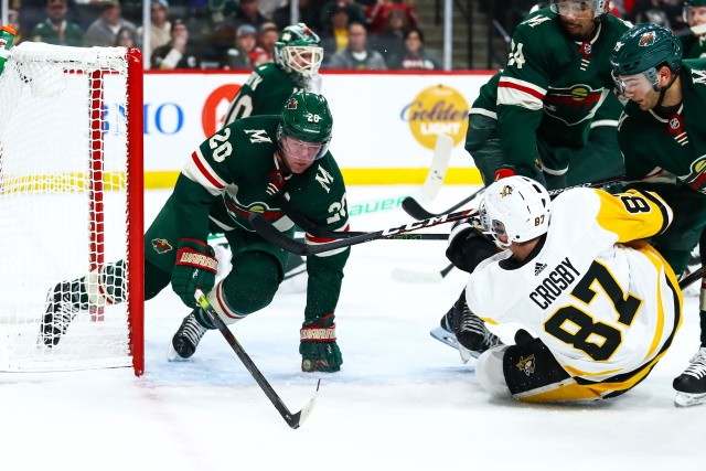 Middling Wild's Awful Start to NHL Season Can Be Turning Point