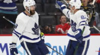 Jake Muzzin and Tyson Barrie are two of three pending UFA defensemen for the Toronto Maple Leafs