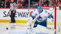 Canucks goaltender Jacob Markstrom granted a leave of absence.