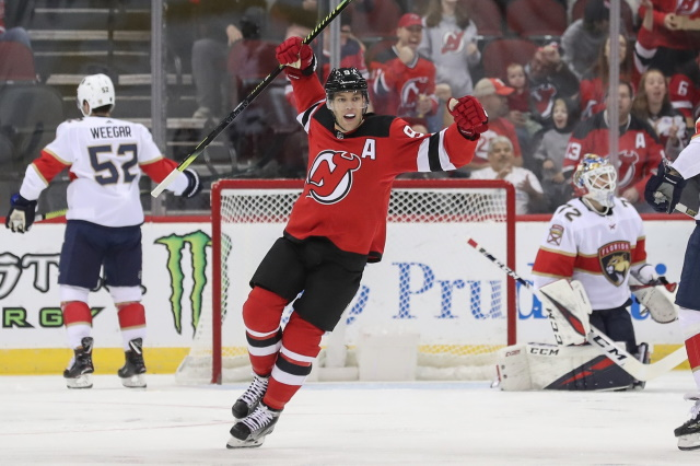 The New Jersey Devils could make Taylor Hall available before the trade deadline if they feel they can't get an extension worked out for the pending unrestricted free agent.