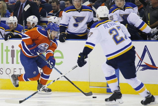 Looking at some teams that might be interested in trading for Taylor Hall. Alex Pietrangelo could be looking for $9 million a season.