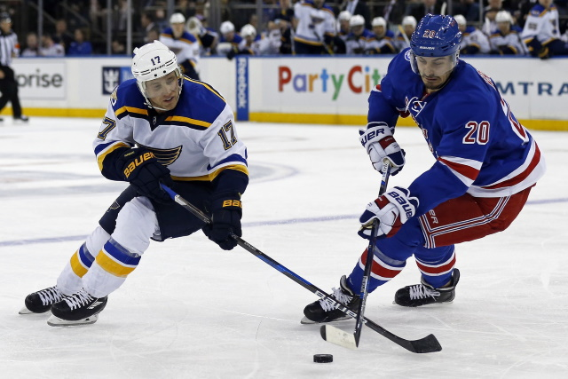 Chris Kreider could be a perfect fit with the St. Louis Blues.