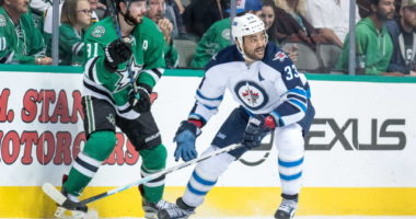 Dustin Byfuglien has ankle surgery. Tyler Seguin missing time with an illness.