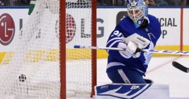 The Toronto Maple Leafs are not in the goalie market ... for now at least.
