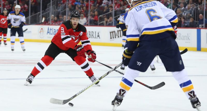 Could the St. Louis Blues be interested in Taylor Hall if the New Jersey Devils put him on the market?