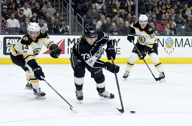 Los Angeles Kings Tyler Toffoli knows his name is in the rumor mill. Could the Kings and Boston Bruins re-visit trade talks at some point?