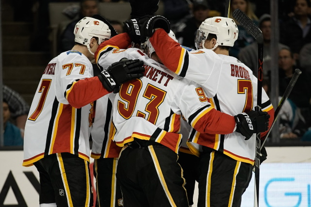 Sam Bennett listed as week-to-week. T.J. Brodie still getting tests done.