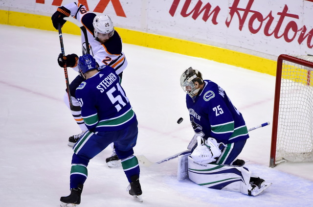 What will the Vancouver Canucks do with defenseman Troy Stecher?