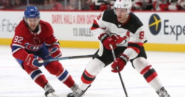 Trade speculation could increase about the Montreal Canadiens being interested in Taylor Hall