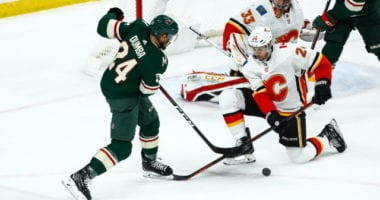 Travis Hamonic could later meet up with the Flames. Matt Dumba is a game-time decision.