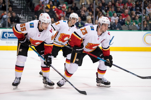 The Calgary Flames have been struggling heading into this weekends action and sit outside of the playoff. What is going on with them?