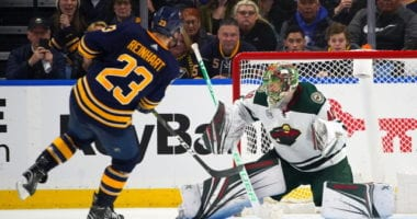 The Minnesota Wild aren't ready to give up on their season just yet. The Buffalo Sabres have work to do on and off the ice.
