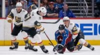 The Vegas Golden Knights entered last night's game with a 9-9-3 record after winning six of their first nine games.