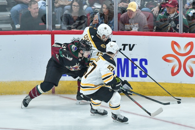 The Boston Bruins signed Charlie Coyle and Chris Wagner to contract extensions. What about pending UFA defenseman Torey Krug?