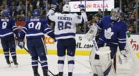 The Toronto Maple Leafs and the Tampa Bay Lightning dealing with different NHL pressures