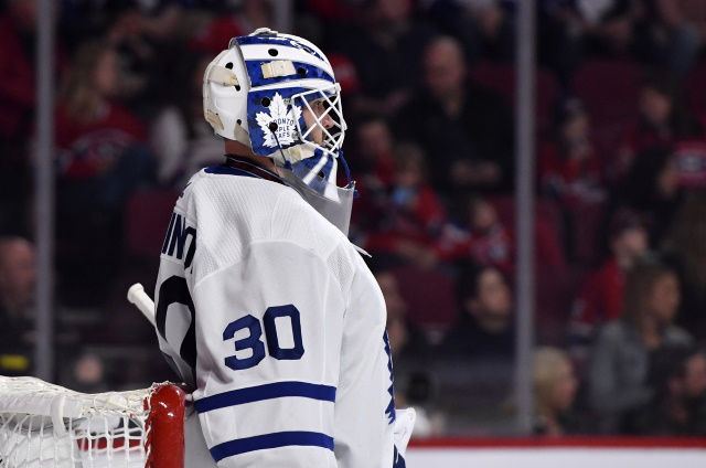 Maple Leafs salvage just a point as reliance on Frederik Andersen continues