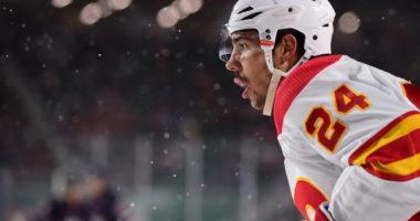 Calgary Flames defenseman Travis Hamonic is one of 15 players on TSN's first NHL trade bait board of the season.