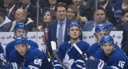 The Toronto Malpe Leafs aren't close to firing coach Mike Babcock.