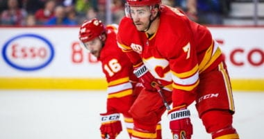 TJ Brodie was released from hospital after collapsing during practice.