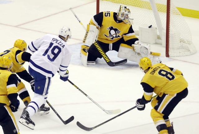 Could Pittsburgh Penguins backup goalie Tristan Jarry be an option for the Toronto Maple Leafs?