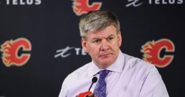 Bill Peters resigned as the Calgary Flames head coach.