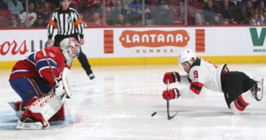 The Montreal Canadiens are slumping and could look to shake things up. Do they look big and take a run at New Jersey Devils pending UFA Taylor Hall?